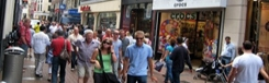 Winkelstraten in Amsterdam
