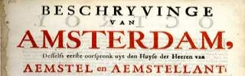 De geschiedenis van Amsterdam