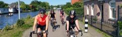 Fietstours door Amsterdam en omgeving met een racefiets